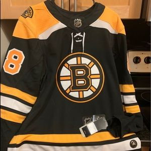 Boston Bruins Pastrnak Jersey